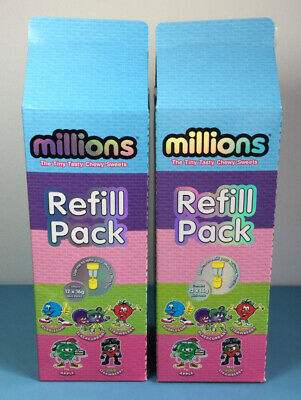 2 X New Millions Sweets Refill Box For Large & Mini Dispenser Machine Gift • 12£