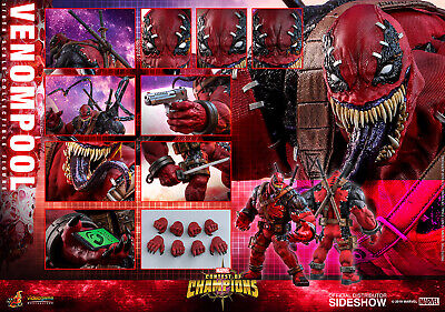 $ CDN468.68 • Buy Hot Toys Marvel Contest Of Champions Venompool 1/6th Scale IN STOCK