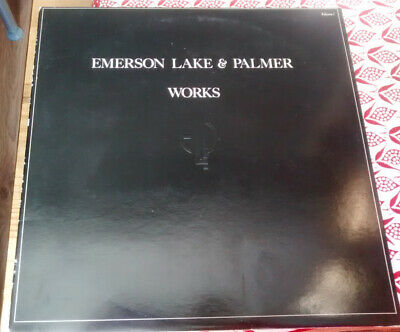 Emerson Lake & Palmer Works Volume 1 Double Lp Trifold Sleeve Near Mint • 19.99£