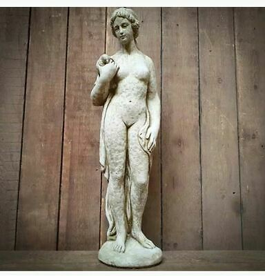 Dove Girl Statue | Reconstituted Stone Large Lady Greek Roman Garden Ornament • 145£