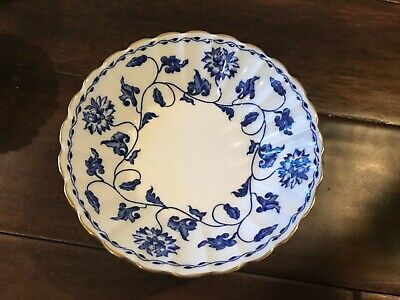 Spode Blue Colonel Gold Trim Fruit Berry Bowl 5  England-10 Available • 18.29£