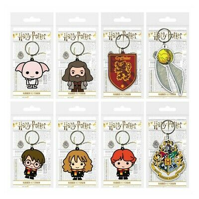 £2.89 • Buy Harry Potter Chibi Keyring Rubber Official Licensed Character Keychain Gift New
