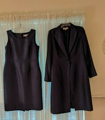 £29.10 • Buy Women's Dress And Coat Suit, Size 10. Deep Blue, Very Good Condition.