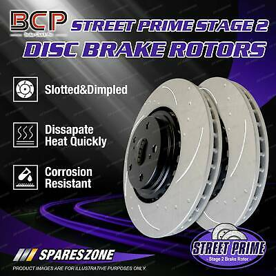 AU193.78 • Buy Rear BCP Slotted & Dimpled Disc Brake Rotors For Nissan Maxima J30 10/92 - 10/94