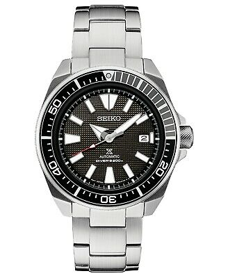 $ CDN275.31 • Buy Seiko Prospex Samurai Automatic Black Dial Stainless Men's Diver Watch SRPB51