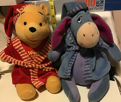 Winnie The Pooh And Eeyore Soft Toys Used • 2£