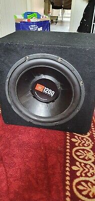 Jbl Subwoofer With Pioneer Amplifier • 110£