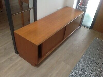 Teak G-Plan Low Base Unit Cabinet Sideboard 1970s • 110.88£