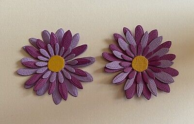Die Cut 3D Flowers For Card Toppers/decorating   • 1£