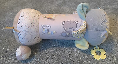 Mothercare. Teddy's Toy Box. Baby Tummy Time Roller • 4.50£