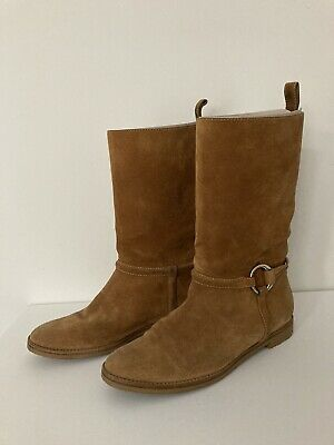 Gucci Women's Suede Boots Size 38.5 • 217£