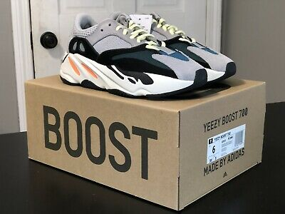 $ CDN815.10 • Buy Adidas Yeezy Boost 700 Wave Runner Solid Grey Size 6