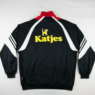 /// Adidas Katjes Deutschland Size L Jacket Track Top Tracksuit Red Rare NEW XL? • 77£