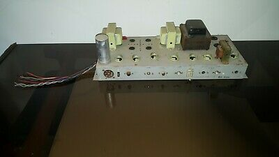 $ CDN183.53 • Buy Hammond Tube Amplifier AMP 7199 7247 7591 6BQ5 EL84 Guitar Reverb Amp Project 2