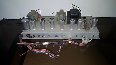 $ CDN196.64 • Buy Hammond Tube Amplifier AMP 7199 7247 7591 6BQ5 EL84 Guitar Reverb Amp Project 1