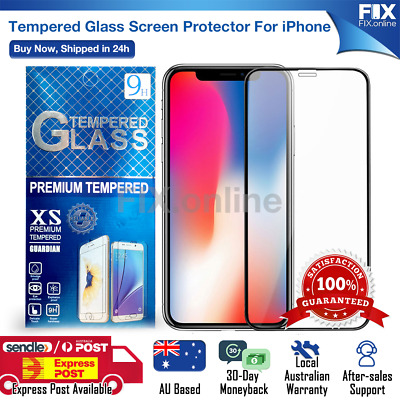 AU2.58 • Buy For Apple IPhone 6 6s 7 8 Plus XS 11 12 Pro Max Tempered Glass Screen Protector