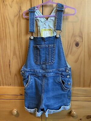 Girls Mini Boden Shorts Dungarees Age 7-8 • 1.50£
