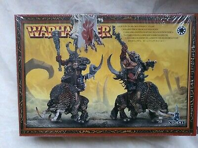 Warhammer Ogre Kingdoms/Beastclaw Raiders - Mournfang Cavalry New In Box • 10£