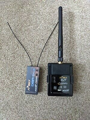 FrSky DJT-JR 2.4GHz Transmitter Telemetry Module And D8R-2 PLUS Receiver • 7.50£