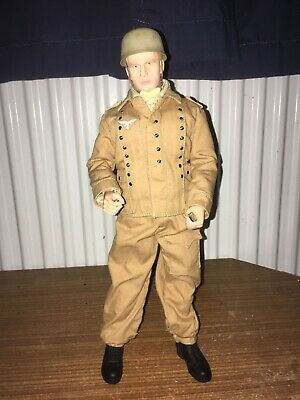 Dragon 1/6 Scale WW2 German Paratrooper Officer, Desert Uniform Fallschirmjäger • 11£