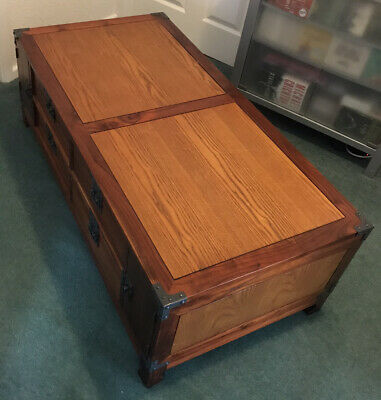 £175 • Buy Military Campaign Style Coffee Table Myng/ming