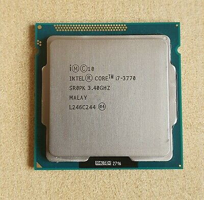 Intel Core I7-3770 3.4Ghz Quad Core LGA 1155 CPU Processor (Unit 1 Of 3) • 31£
