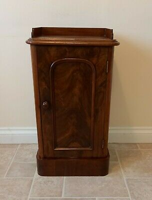 Vintage Mahogany Bedside Cabinet/pot Cupboard, Possibly Edwardian  • 125£