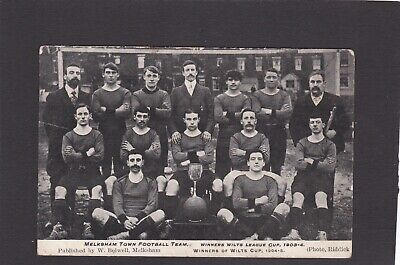 Melksham Town Football Team.  Wilts League Cup Winners, 1903-1904 & 1904-1905. • 25£