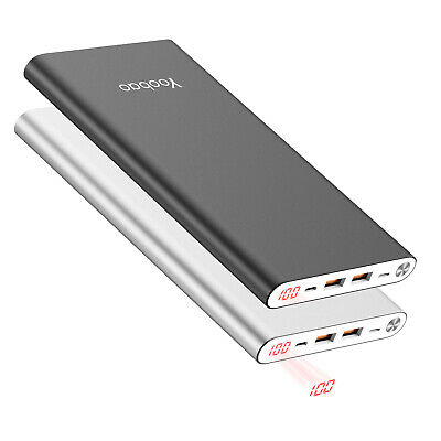 Yoobao 20000mAh Portable Charger Power Bank Battery Charger For Phones &Tablets • 16.99£