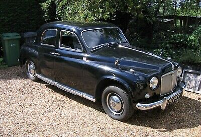 Rover P4 1955 75 Six-cylinder • 3,400£