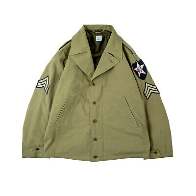 $205 • Buy M41 WWII US Army Field Military Vintage Cagro Cotton Jacket Man Woman