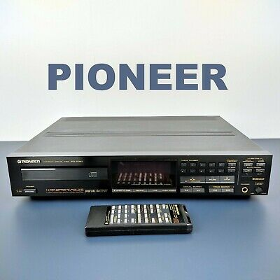 ✔️ PIONEER CD Compact Disc Player + Remote Control + Digital Coaxial Out • 125£