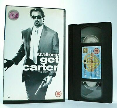 Get Carter: S.Stallone/M.Rourke - Action Thriller (2000) - Large Box - Pal VHS • 24.99£