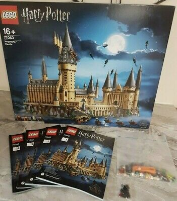 LEGO Harry Potter Hogwarts Castle 71043 100% COMPLETE With Figures Box Manuals • 308.95£