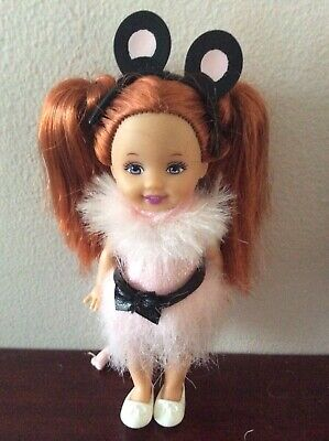 Barbie Doll Baby Sister Kelly Shelly Mouse Swan Lake Clothes Dress Fashion • 15£