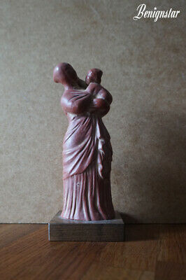 £100 • Buy Greek Tanagra Statue Mother And Child 3rd Century Replica