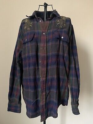 Polo Ralph Lauren Check Relaxed Fit Shirt Size Large • 24.99£