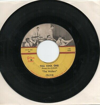 The Wailers   Tall Cool One / Road Runner On Golden Crest    Original 45 • 8.60£