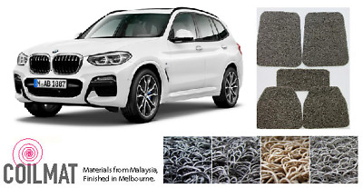 AU130.90 • Buy 2018-Current BMW X3 G01 - Customised Fully Fitted PVC Coil Car Floor Mats
