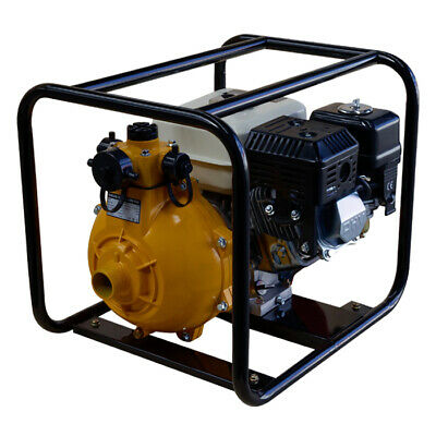 AU295 • Buy 1.5  Twin Impeller Fire Fighting Pump 7HP Petrol Engine 4 Stroke - Recoil Start