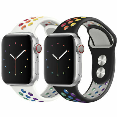 $ CDN8.99 • Buy For Apple Watch Band Strap Series 5 4 3 2 1 38/40/42/44mm IWatch  Strap Band