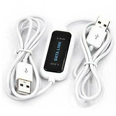 480Mb/s USB 2.0 Laptop PC To PC Online Data Link File Transfer Cable Bridge UP • 10.63£