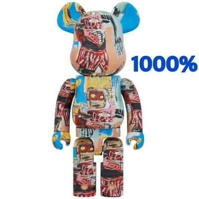 $1079 • Buy MEDICOM TOY  BE@RBRICK JEAN-MICHEL BASQUIAT #6 1000% Bearbrick