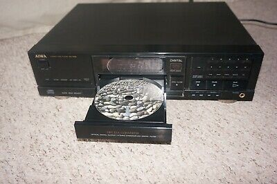 Retro Hi-End Aiwa XC-700 1-bit DAC CD Player Optical Digital Output • 75£