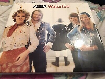 ABBA WATERLOO CD Slipcase Edition 2001 Release Complete With Booklet Fantastic • 4.99£
