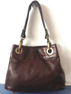 River Island Small Soft Black Leather Tote Bag.very Good Condition. • 7.99£