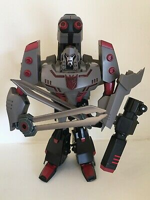 Transformers Animated MEGATRON Decepticon Leader Universe Generations Lot • 19.99£