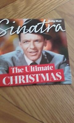 The Ultimate Christmas Frank Sinatra Cd Daily Mail Peoples Friend Carols • 0.50£