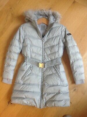 Girls GEOX  Winter Coat, Age 10. Down Padding, Silver /Grey • 13£