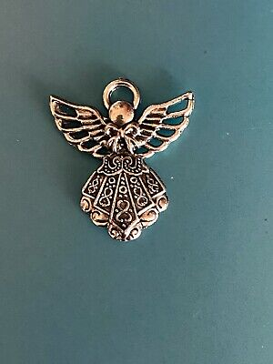 ANGELS Charms Antique Silver Tibetan Alloy  Angel Fairy  2 Designs • 3£